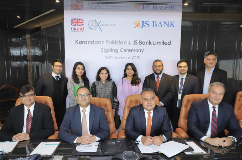 8681b05f0711 PKR 1 Billion Announced For SMEs By UK-Funded Karandaaz And JS Bank