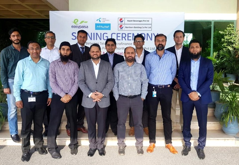 c64a53c9ae7f Easypaisa Joins Hands with Haidri Beverages Pvt. Ltd & Northern Bottling  Co. Pvt. Ltd for Retailer Commissions Disbursement Solution